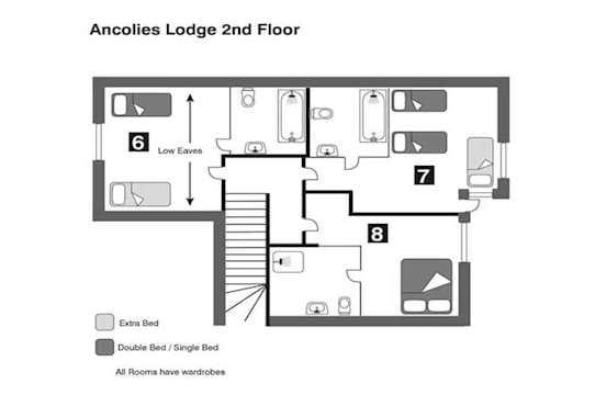 Ancolies Second Floor