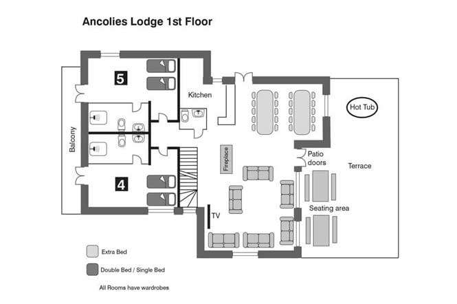 Ancolies First Floor