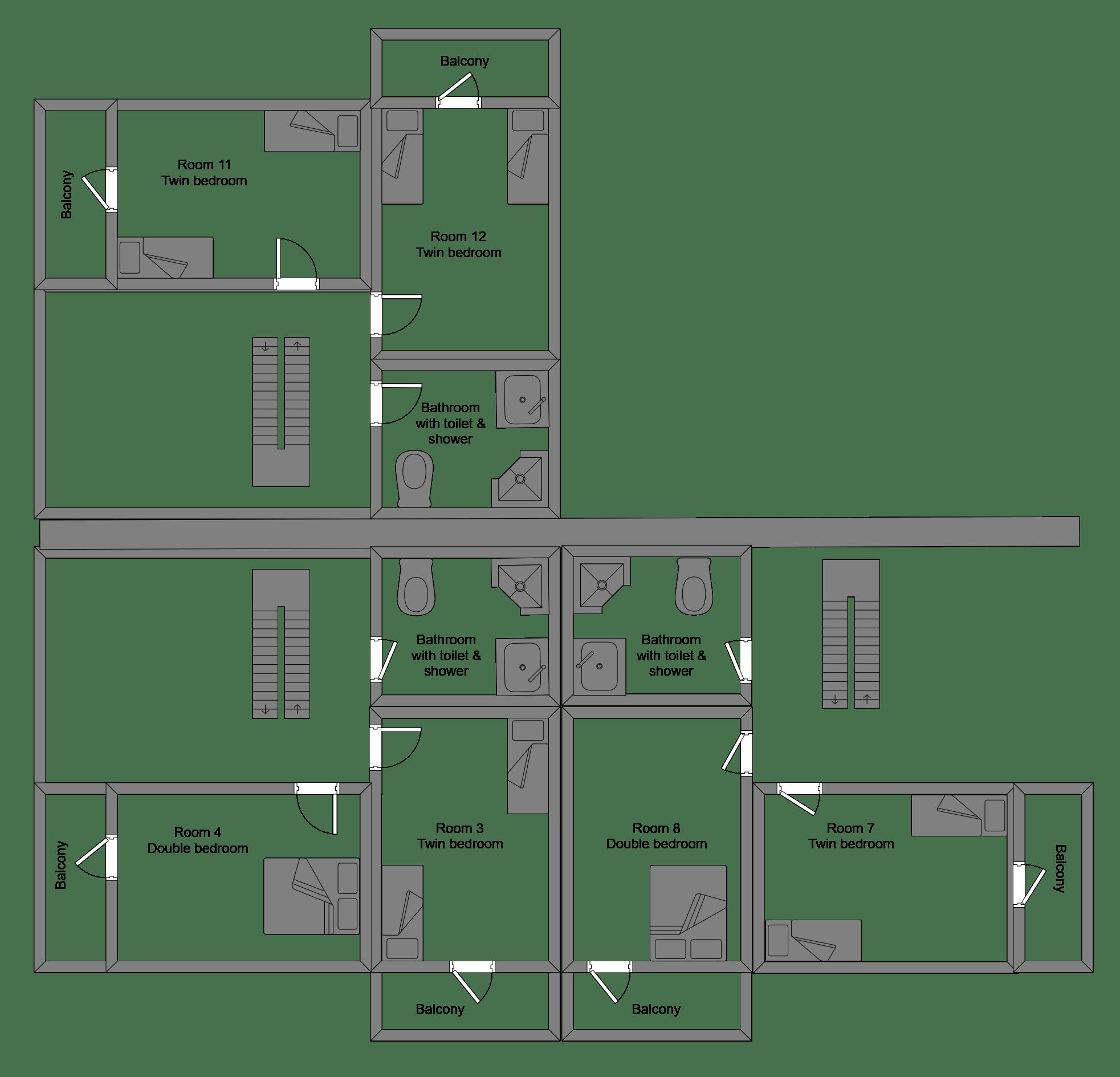 Campanules Second Floor